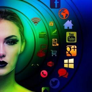 Blue Dog Social Media Headers Design - One